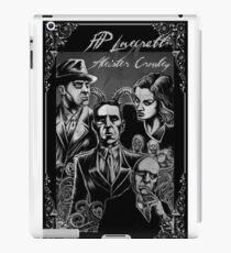 HP Lovecraft vs Aleister Crowley iPad Case/Skin