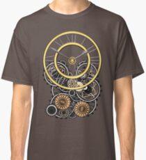 Stylish Vintage Steampunk Timepiece Classic T-Shirt