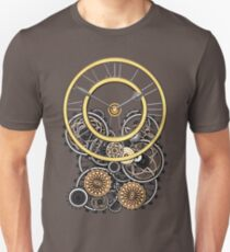 Stylish Vintage Steampunk Timepiece Steampunk T-Shirts Unisex T-Shirt