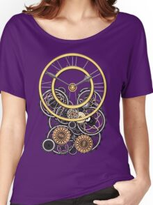 Stylish Vintage Steampunk Timepiece Women's Relaxed Fit T-Shirt