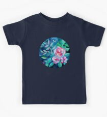 Tropical Camellia Extravaganza - oil on canvas Kids Clothes