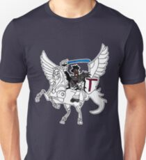 Night Begins To Shine-Teen Titans Unisex T-Shirt