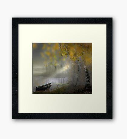 Serene Waters Framed Print