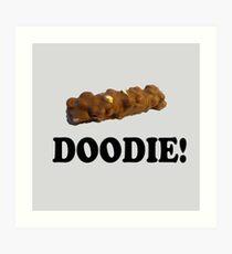 Caddyshack Quote - Chocolate Bar - Doodie! Art Print