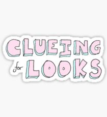 pastel clueing for looks Sticker