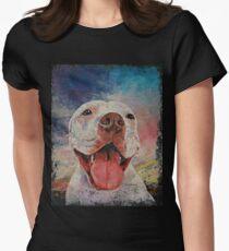 Pitbull Women's Fitted T-Shirt