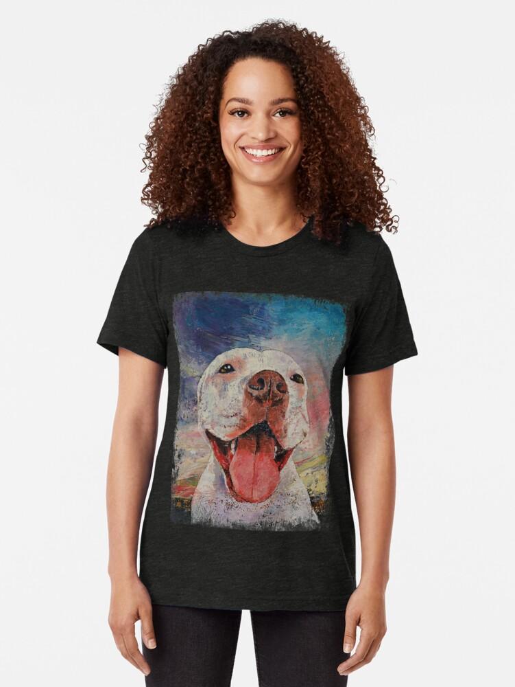 Alternative Ansicht von Pitbull Vintage T-Shirt