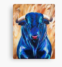 Vincent the Bull Canvas Print