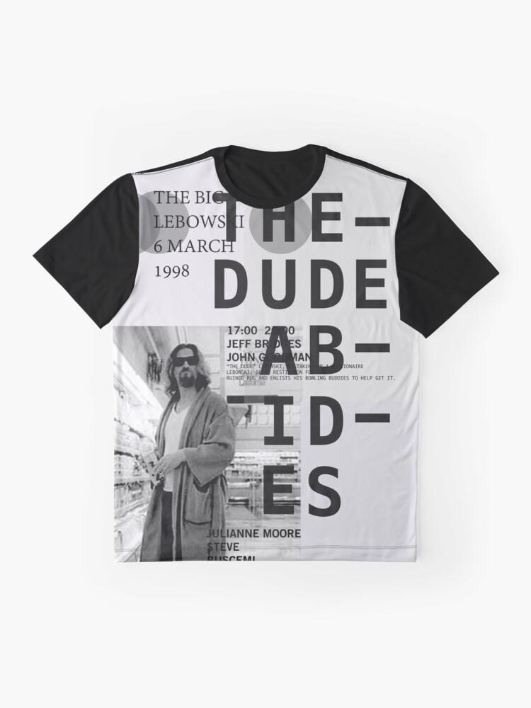 Vista alternativa de Camiseta gráfica EL TIPO ABARCA (EL GRAN LEBOWSKI)