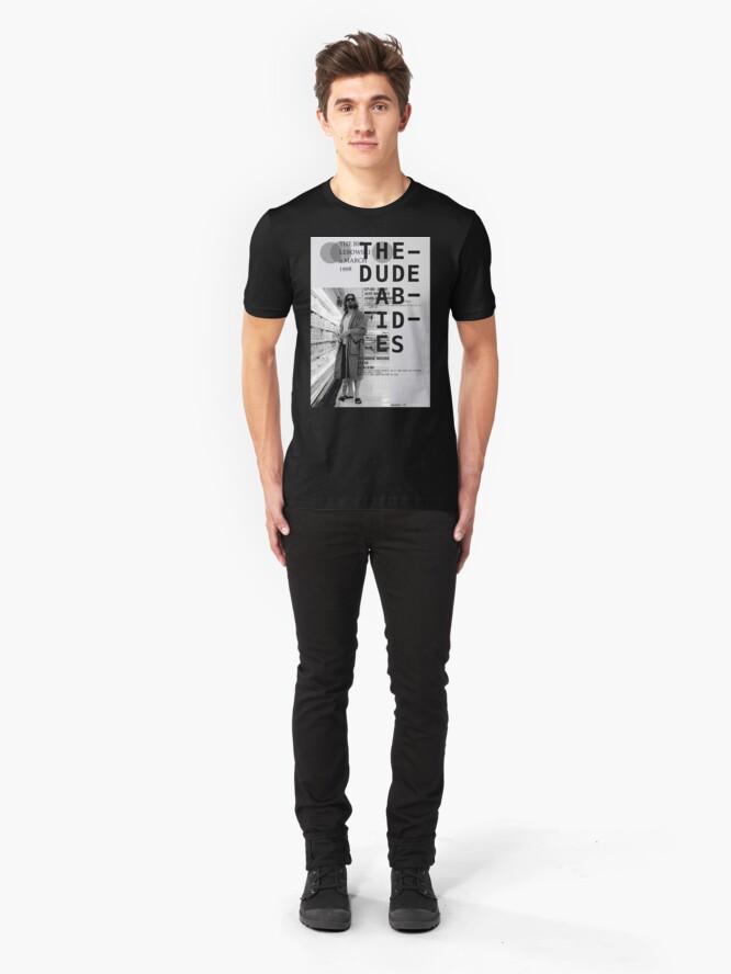 Vista alternativa de Camiseta ajustada EL TIPO ABARCA (EL GRAN LEBOWSKI)