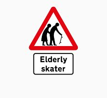 Elderly Skater Road Sign Classic T-Shirt