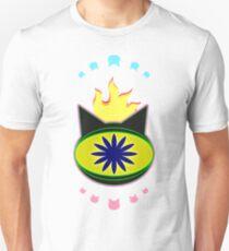 Flaming Feline Eye Unisex T-Shirt