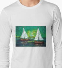 Sail Away With Me Long Sleeve T-Shirt