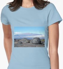 Kapu Aloha! Womens Fitted T-Shirt