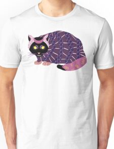 Abstract Cat [BLACK] T-Shirt