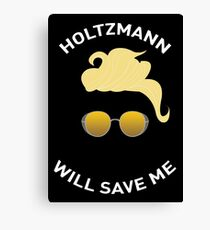 Ghostbusters: Knight in Shining Goggles (White Text) Canvas Print
