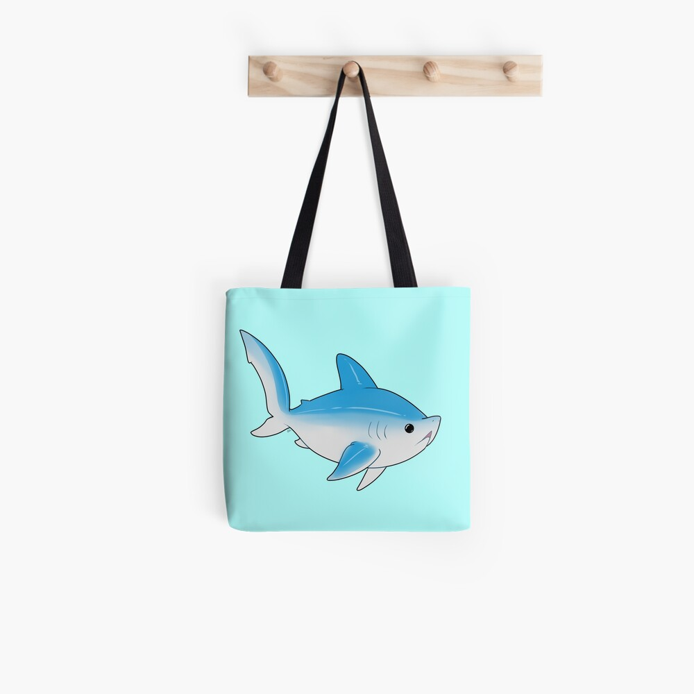 Littlest Thresher - Blue Tote Bag