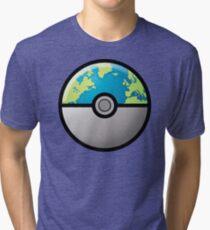 Earth ball Tri-blend T-Shirt