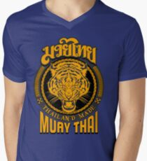 tiger sagat muay thai  thailand martial art logo T-Shirt