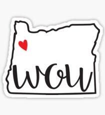 WOU Sticker Sticker