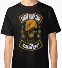 Sagat Muay Thai Fighter  Thailand Martial Art Classic T-Shirt