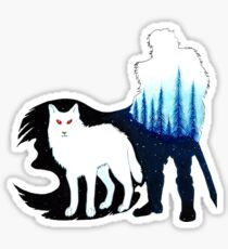 John Snow Sticker