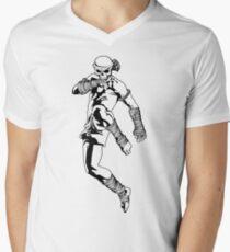 muay thai skull thailand martial art sport power kick impact decal T-Shirt