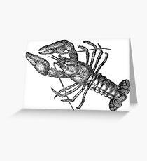 Crayfish Lookalike  Greeting Card
