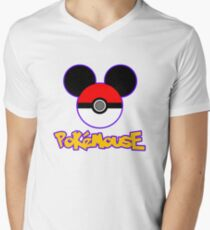 PokeMouse Men's V-Neck T-Shirt