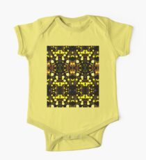 Daisies Polarized in Symmetry One Piece - Short Sleeve