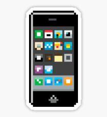 Pixel Iphone Sticker