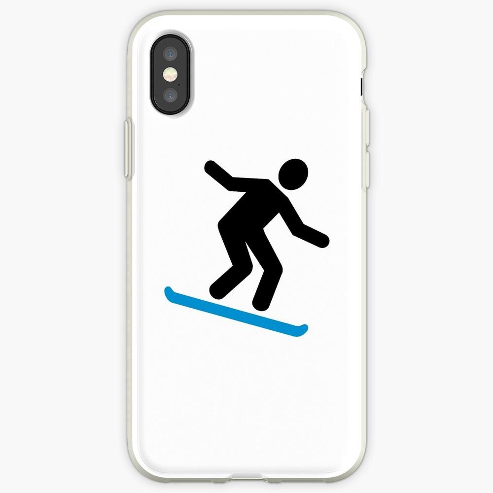 Snowboard alpino Funda y vinilo para iPhone