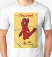St. Louis Cardinals 1956 Scorecard Unisex T-Shirt