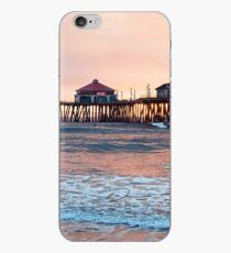 Huntington Beach Pier, Winter Swell iPhone Case