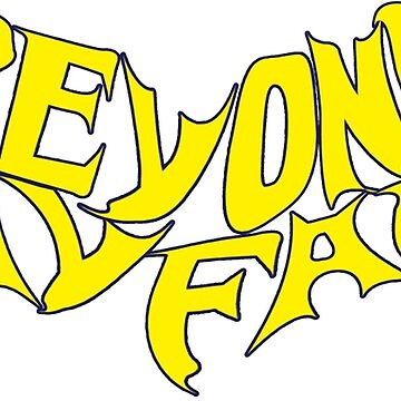 Beyond Kayfabe - Bat Letters Yellow by falsefinish66