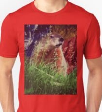 2015. Photography. By. Will Divinely Create/Animal_Groundhog T-Shirt