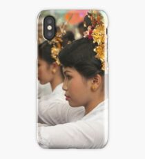 Girls in Marching Contest iPhone Case/Skin
