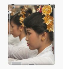 Girls in Marching Contest iPad Case/Skin