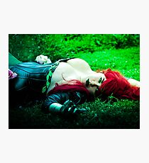 Lay with Lady Poison Photographic Print