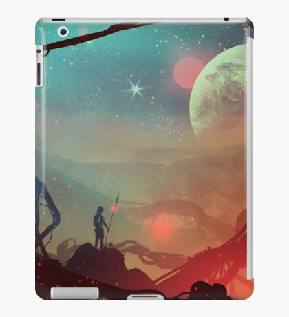 Moonlight in 1986 iPad Case/Skin