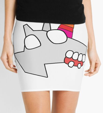 zombie unicorn Mini Skirt