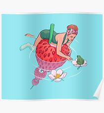 Strawberry Poster