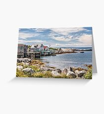 Indian Harbour Greeting Card