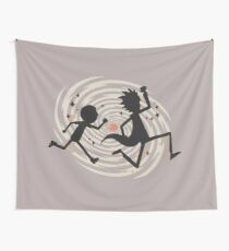 running time Wall Tapestry
