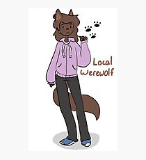 Local Werewolf Photographic Print