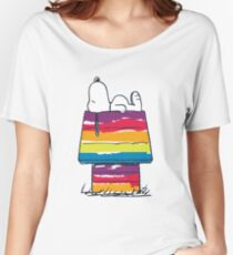 rainbow snoop Women's Relaxed Fit T-Shirt