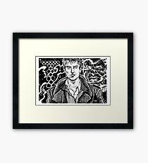 TORCHWOOD - CAPTAIN JACK Framed Print