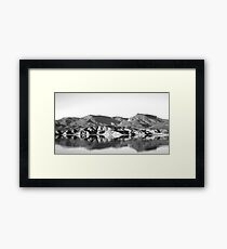 Saguaro Lake Arizona  Framed Print