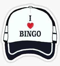 Pegatina brillante El sombrero de Bingo (6 de 6 en serie)