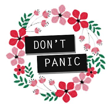 Don't Panic by scullysdelirium